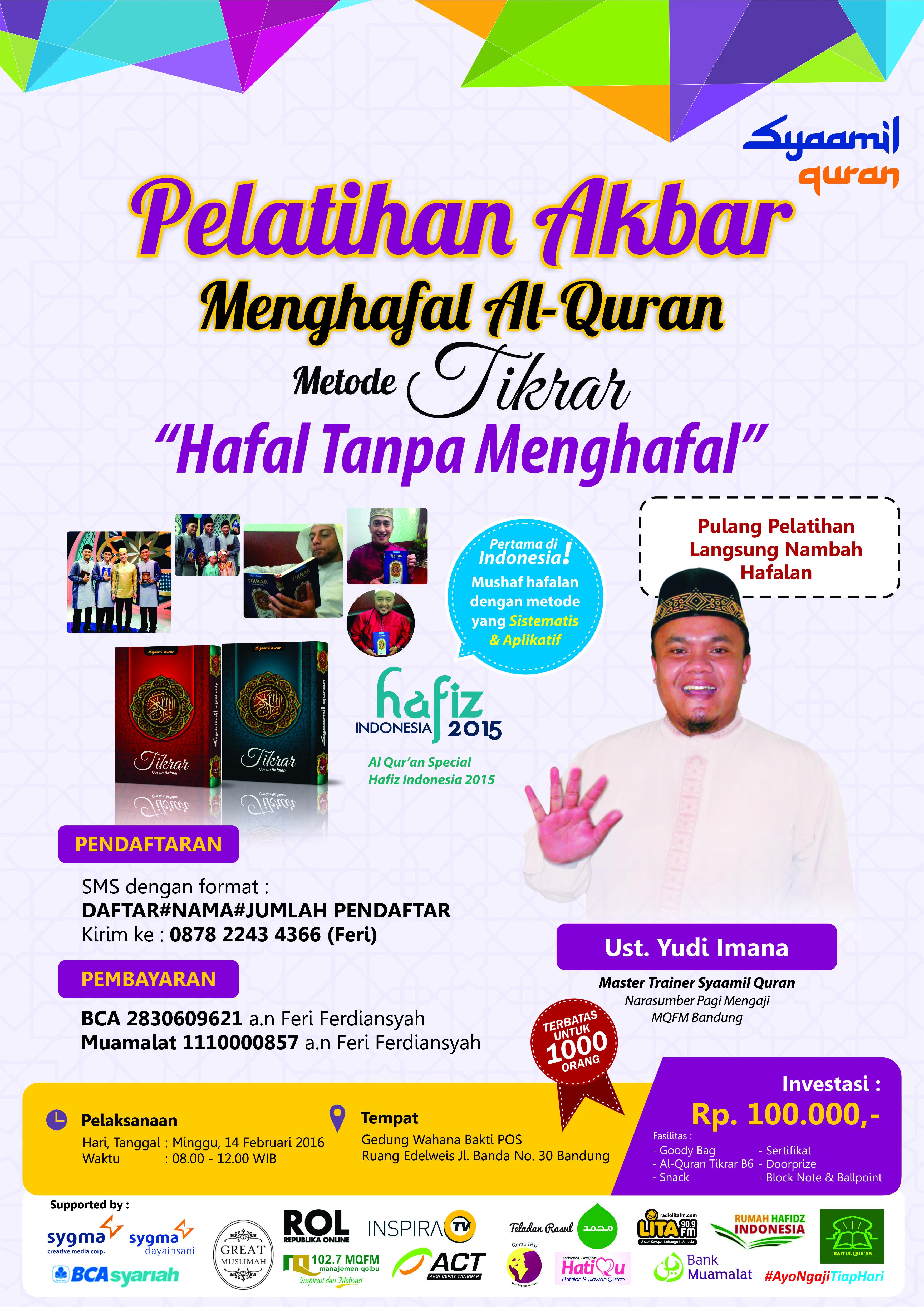Pelatihan-Akbar-Tikrar-Akan-Digelar-di-Bandung-poster