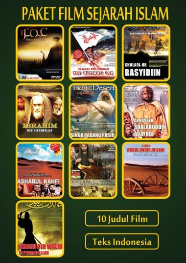Paket Film Sejarah Perjuangan Islam