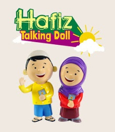 hafiz hafizah talking doll kecil