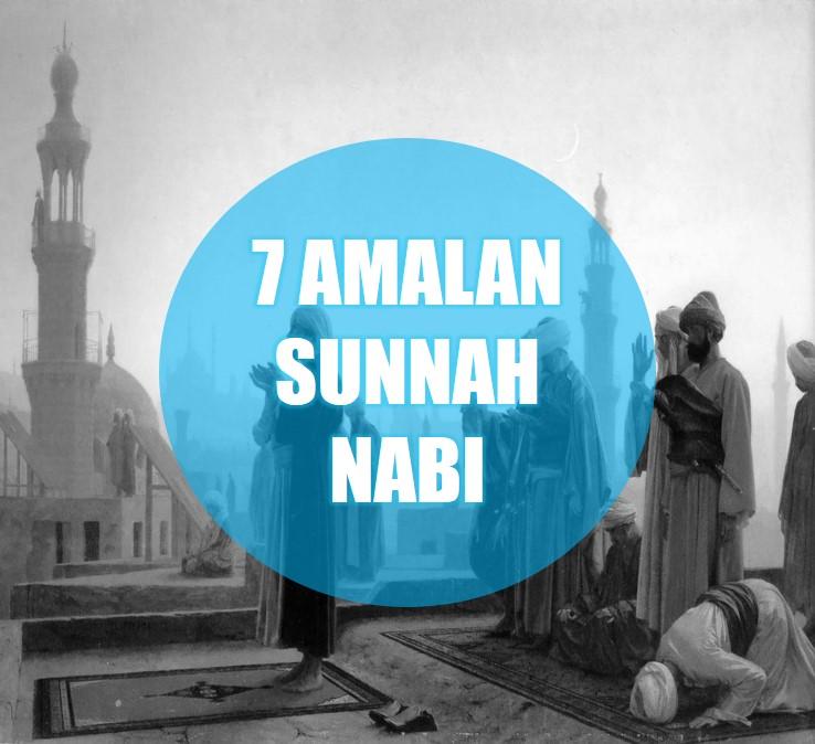 sunnah nabi sebagai amalan harian muslim