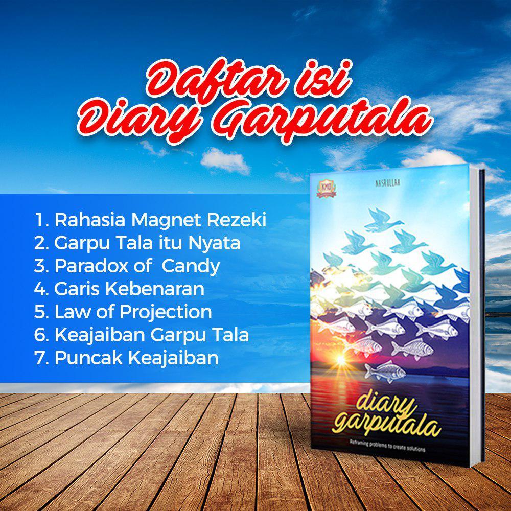 Daftar Isi Buku Diary Garputala