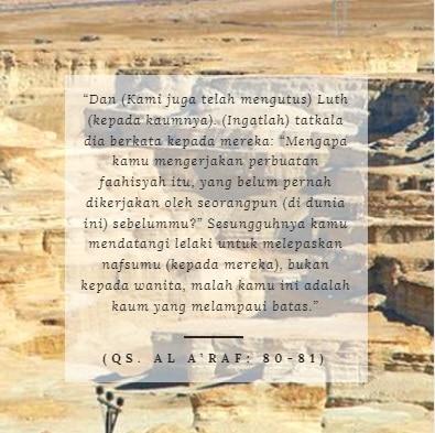 ayat alquran tentang kaum nabi luth