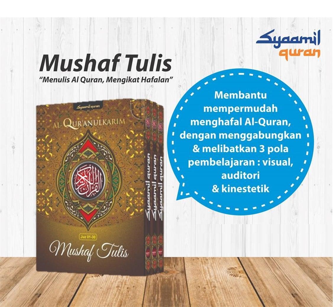 mushaf tulis syaamil quran