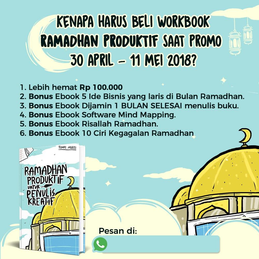 Bonus Workbook Ramadhan Produktif Masa Promo