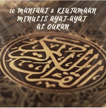 manfaat-menulis-ayat-alquran