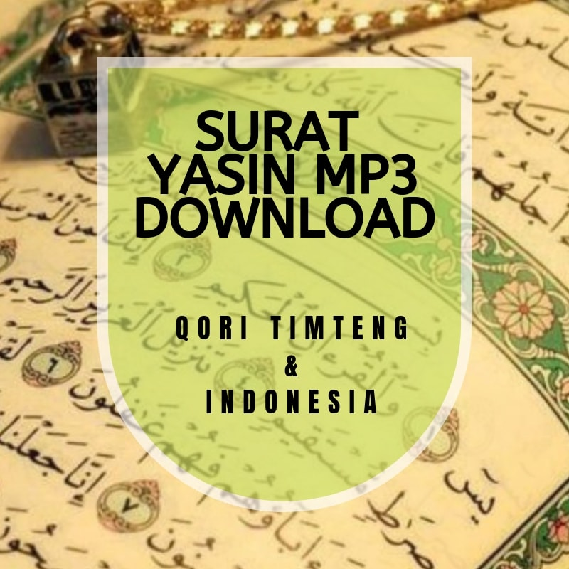 Surat Yasin Mp3 Download Gratis Format Mp3 Pondok Islami