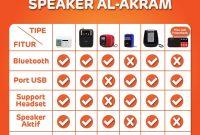 speaker-quran-al-akram-spesifikasi