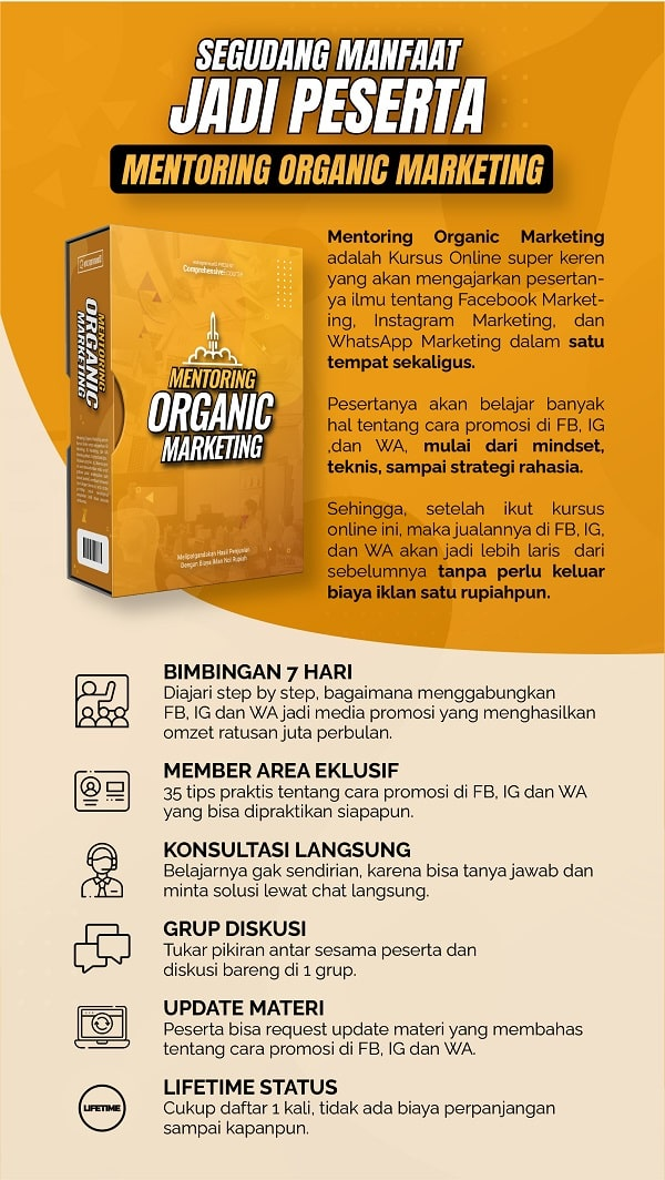 Apa itu Mentoring Organic Marketing