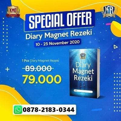 diary-magnet-rezeki-pre-order