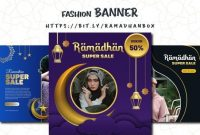 template-ppt-banner fashion