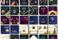 template ppt banner luxury lengkap