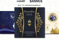 template ppt banner luxury