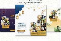 template-ppt-banner-parcel