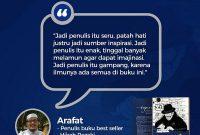 super-writer-testimoni-arafat