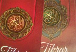Petunjuk Cara Menggunakan Al quran Hafalan Tikrar