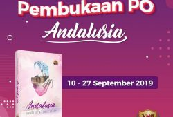 Novel ANDALUSIA (Owner Of A Lonely Heart) Karya Fissilmi Hamida