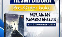 Pre-Order Buku Melawan Kemustahilan Resmi Dibuka (13-27 November 2018)