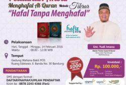 Gempita Lantunan Alquran Pada Pelatihan Akbar Alquran Tikrar Bandung 2016