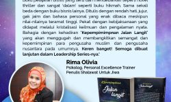 """Sinopsis dan Testimoni Buku """"Kepemimpinan Jalan Langit"""" Riza Zacharias"""