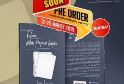 """Pre-Order """"Tuhan Inilah Proposal Hidupku"""" – Jamil Azzaini"""