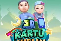 Kartu Muslim 3D : Cara Seru Bermain Sambil Belajar Islam Untuk Anak