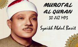 Download Murotal Al Quran Qari Syaikh Abdul Basit Abdus Samad 30 Juz MP3