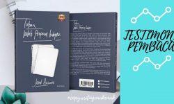 """Testimoni Buku """"Tuhan Inilah Proposal Hidupku"""""""