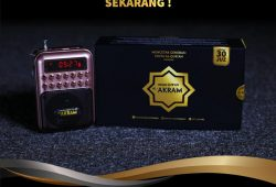 Upgrade Speaker Qur'an-mu SEKARANG ! (Limited Edition : Speaker Qur'an Al-Akram)