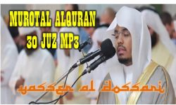 Download Murottal Al Quran Syaikh Yasser Al Dossari MP3