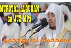 Download Murottal Al Quran Syaikh Yasser Al Dossari MP3